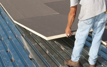 benefits of insulating Tanis flat roofing