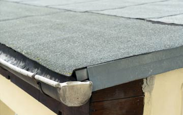 repair or replace Tanis flat roofing?